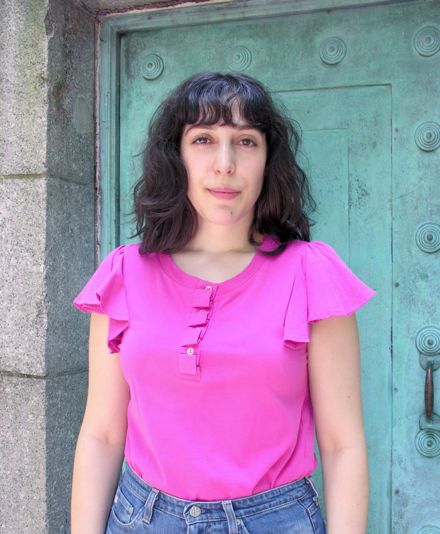 Portrait photo of illustrator Sasha Prood.